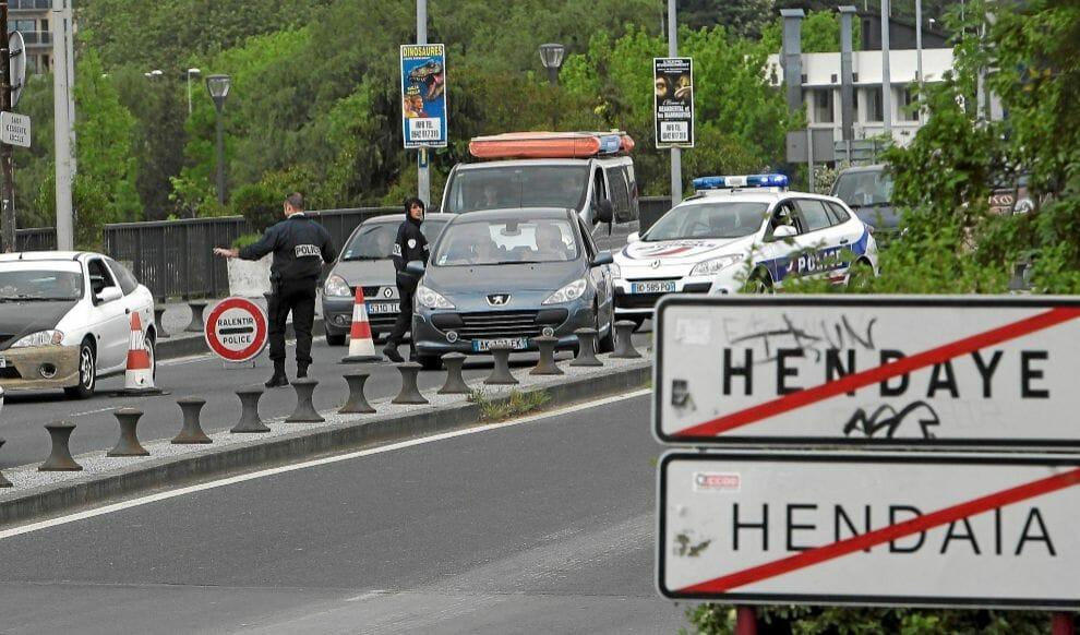 فتح الحدود فرنسا اسبانيا
