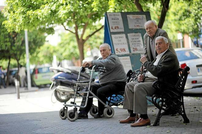 فيروس كورونا في إسبانيا المتقاعدين صندوق المعاشات الضمان الاجتماعي
