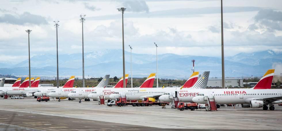 فتح المجالي الجوي في اسبانيا