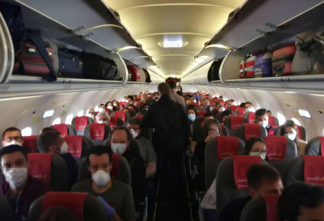 السفر عبر الطائرة مسافة الأمان الاتحاد الأوروبي