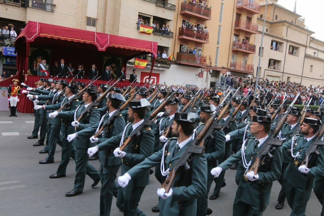 تمرد عصيان الحرس المدني جهاز وزيرة الدفاع البرلمان الإسباني