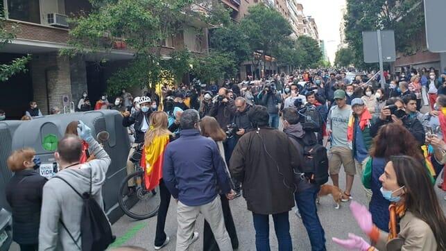 مظاهرات أثرياء مدريد ضد الحكومة