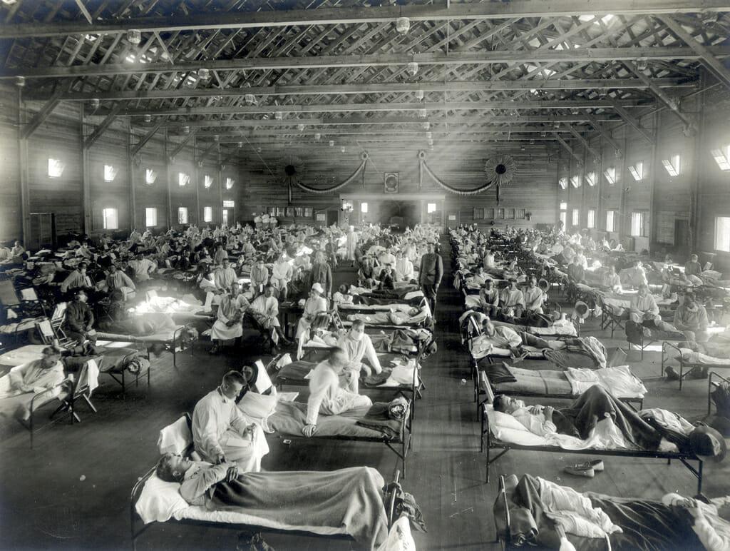 الانفلونزا الإسبانية 1918