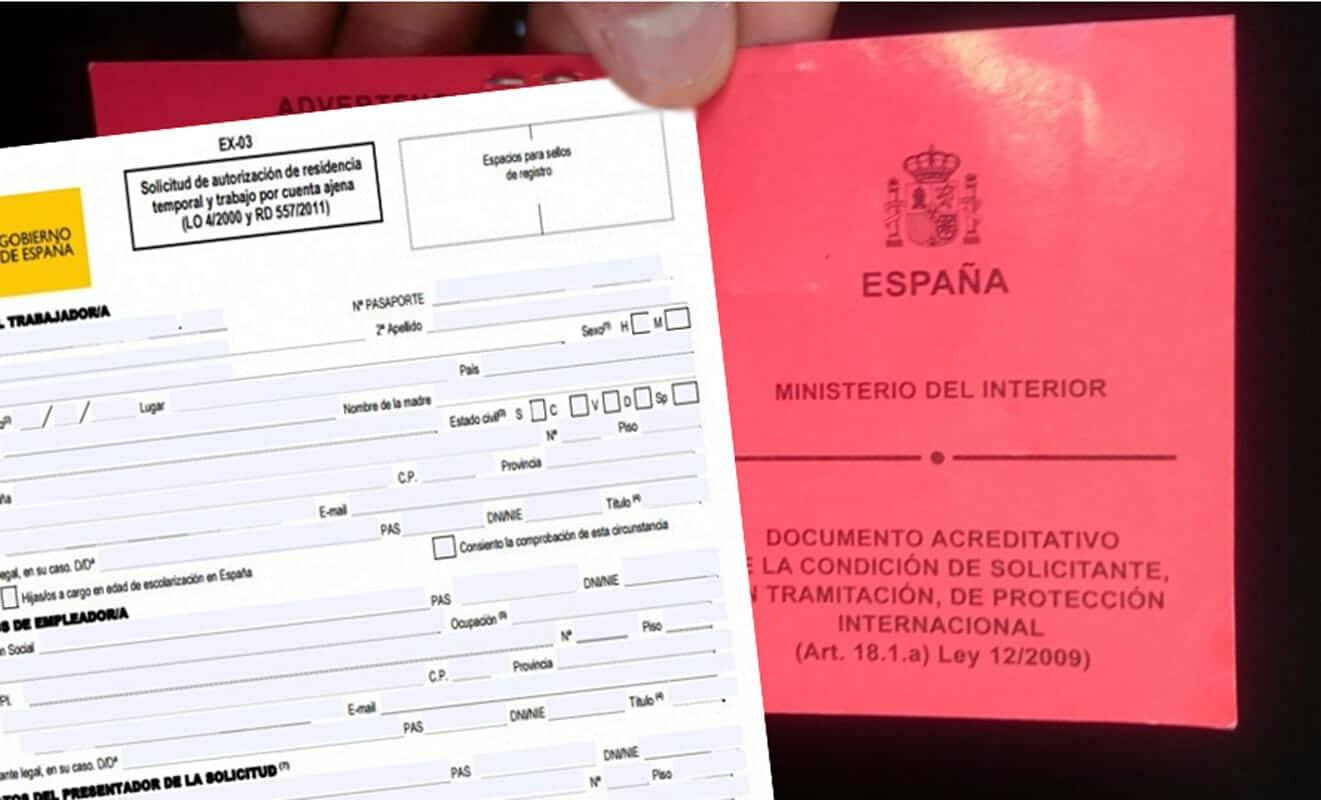 طلب اللجوء اسبانيا