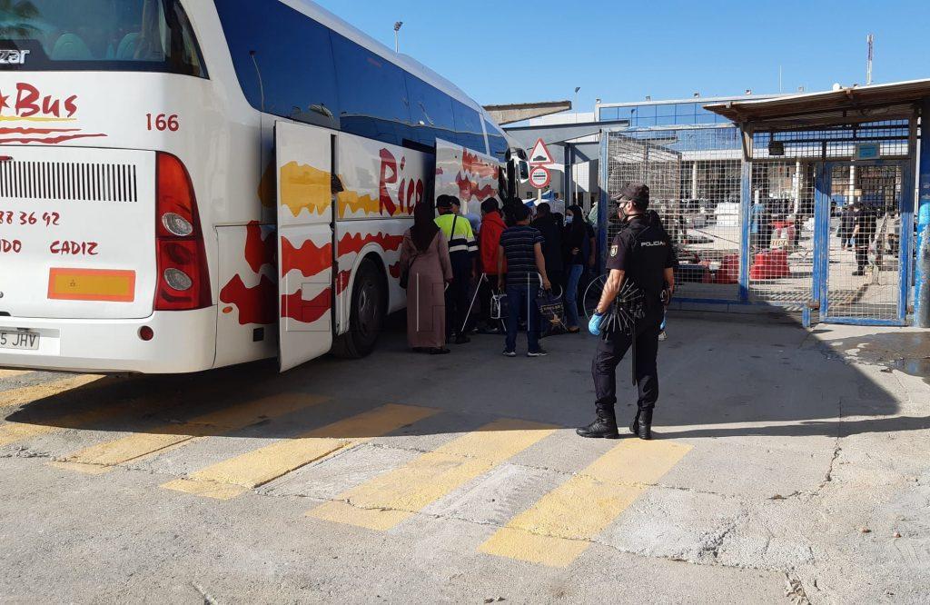 إسبانيا فتح الحدود مع المغرب سبتة
