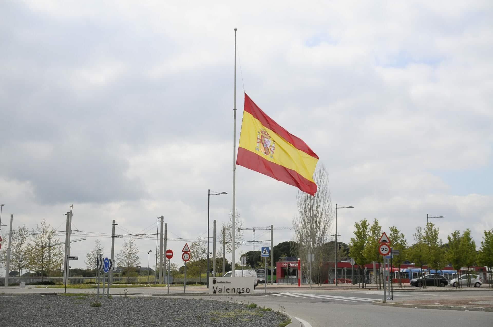 الحديد الرسمي في إسبانيا على ضحايا فيروس كورونا