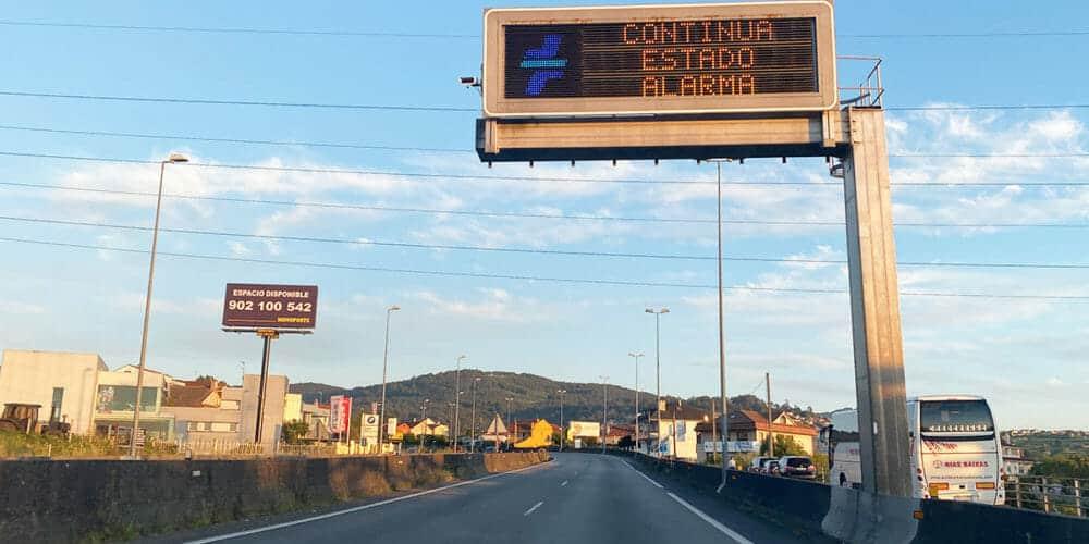 حالة الطوارئ في إسبانيا