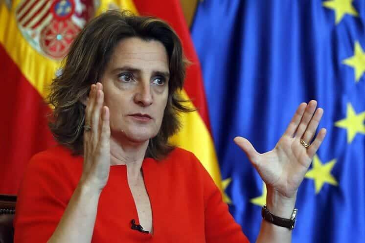وزيرة البيئة الإسبانية