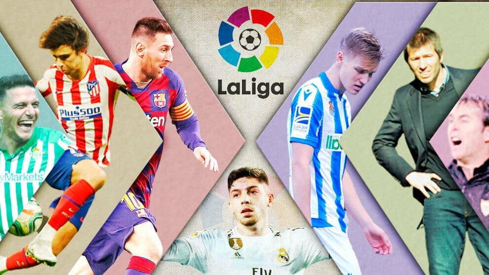 الليغا برشلونة الريال ريال مدريد الرتبة نقطة