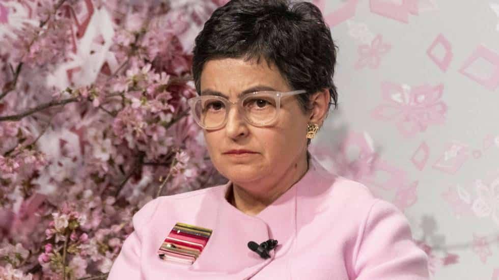 وزيرة خارجية إسبانيا