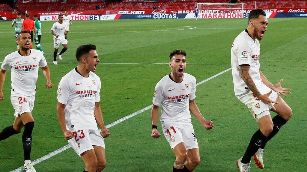 الدوري الإسباني لكرة القدم ديربي الأندلس إشبيلية بيتيس
