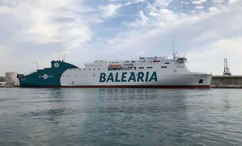 شركة بالياريا النقل البحري فتح الحدود إسبانيا الجزائر