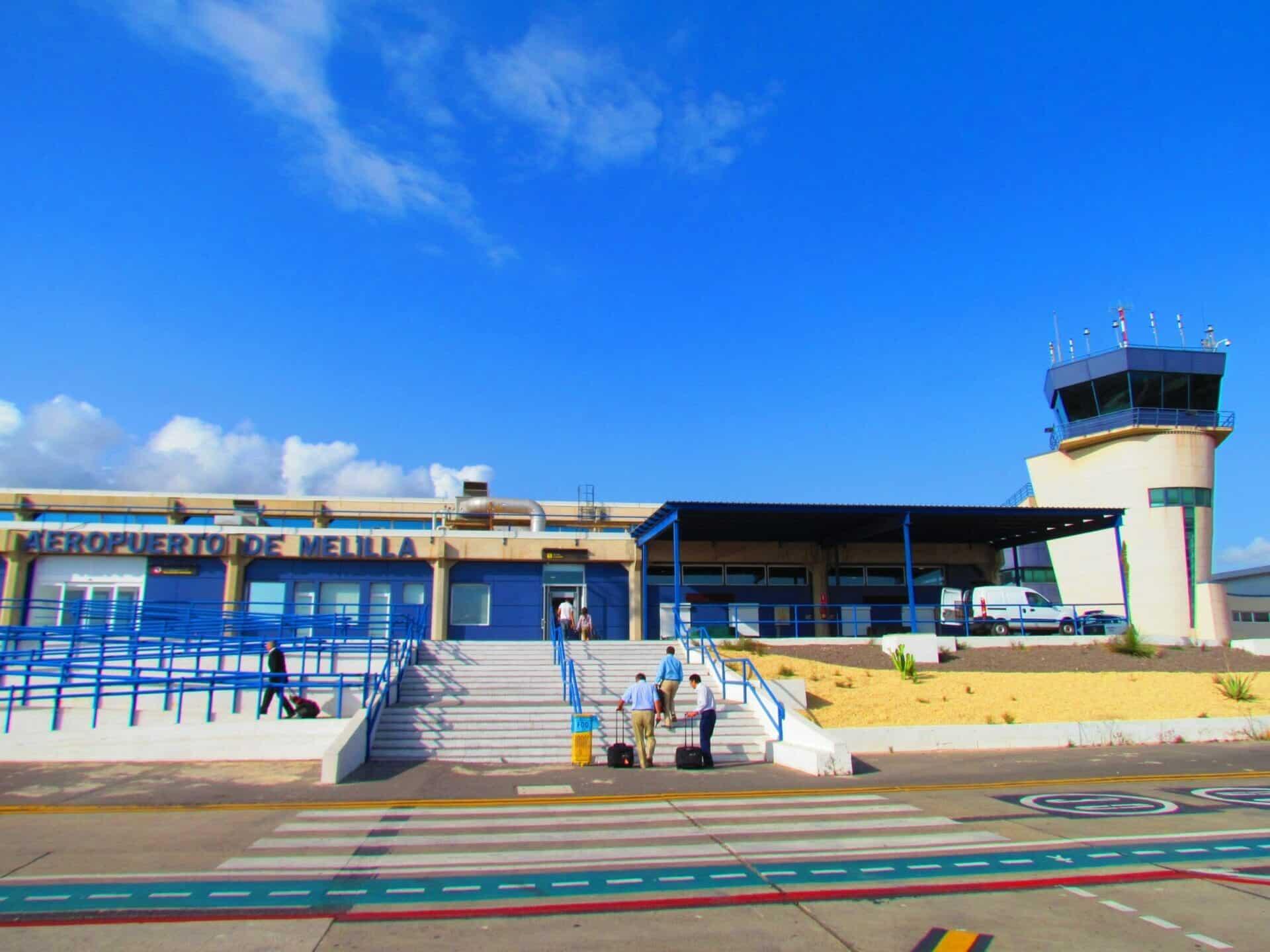 مطار مليلية إسبانيا استقبال الرحلات
