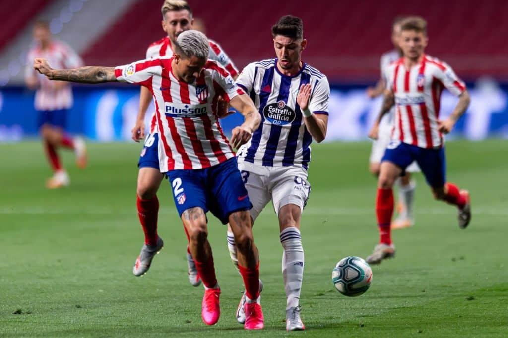 اتليتيكو مدريد بلد الوليد الدولي الإسباني مباراة هدف مقابلة