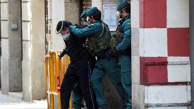 اعتقال شخص مدريد تنظيم الدولة الإسلامية