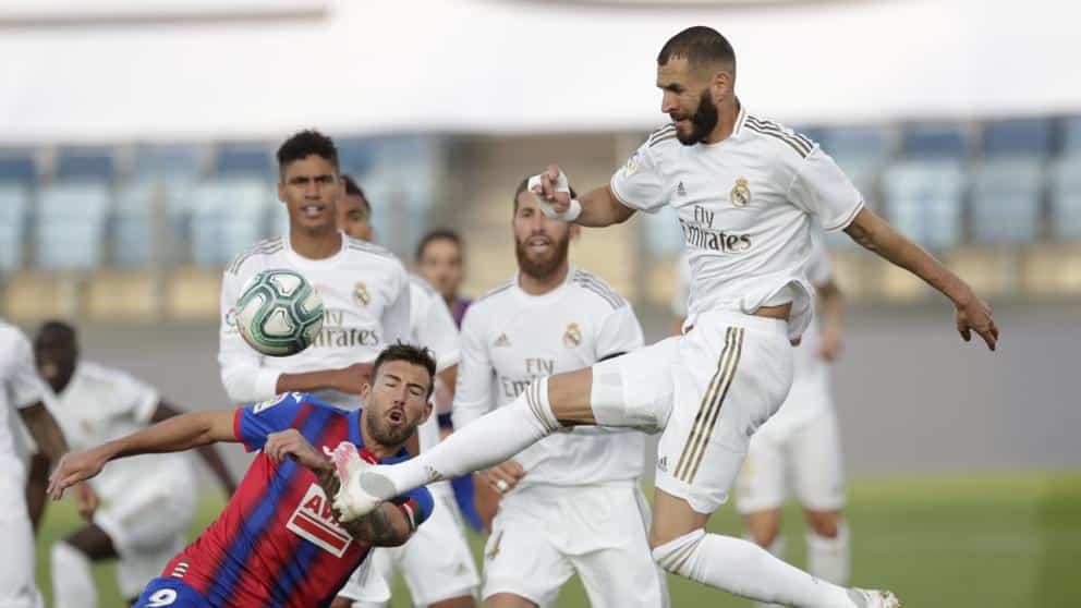 ريال مدريد مباراة أهداف ايبار برشلونة الدوري الإسباني