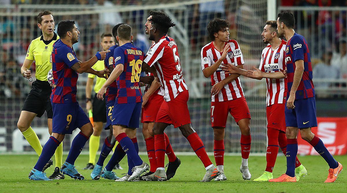 اتليتيكو مدريد البارسا الدوري الإسباني
