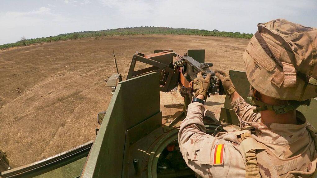 الجيش الإسباني انتشار إفريقيا