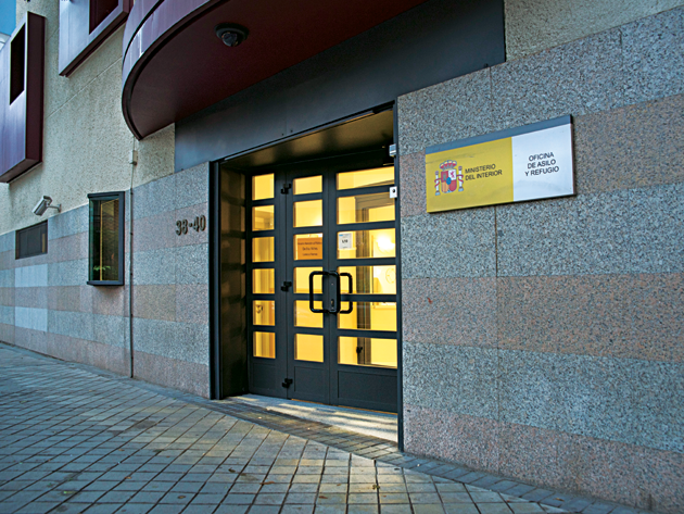 مكتب الهجرة والحماية الدولية مدريد