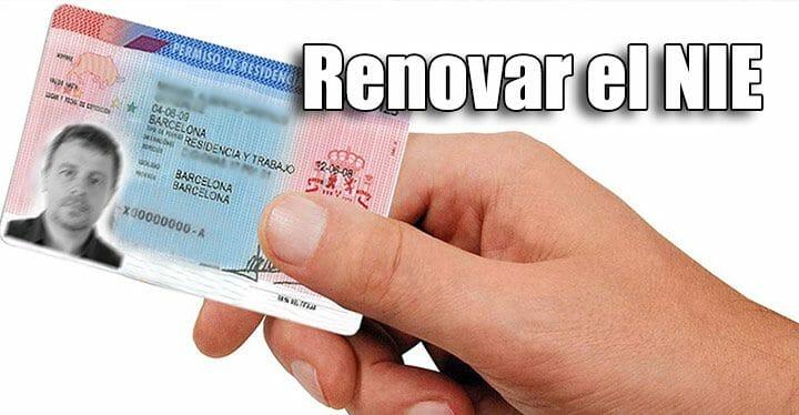 تجديد بطاقة الإقامة إسبانيا