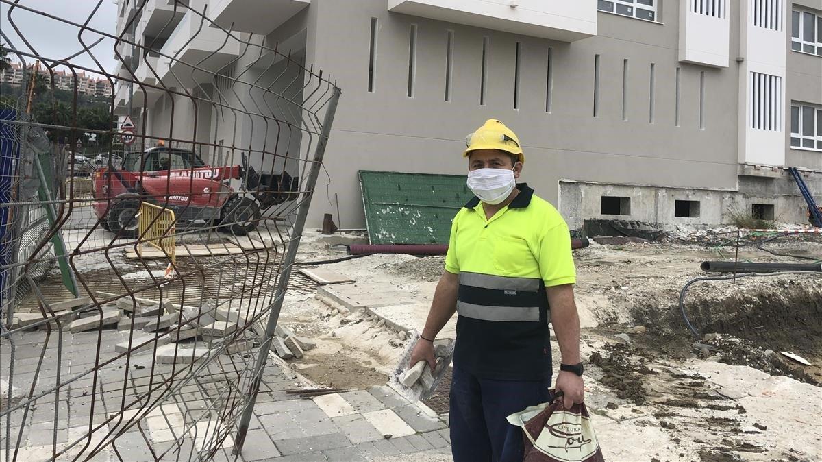 فيروس كورونا عمال متأثرين ERTE