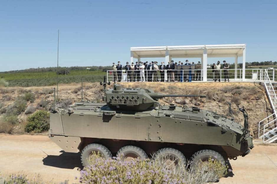 الجيش الإسباني مدرعات عربات