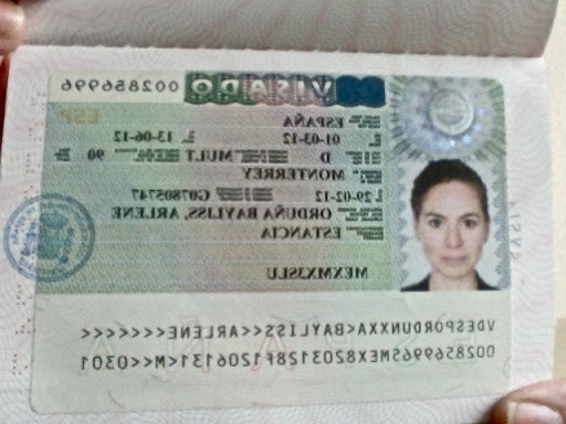 دخول إسبانيا فيزا تأشيرة