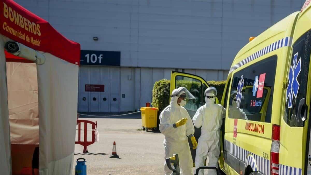 فيروس كورونا إسبانيا وفيات حالة وفاة إصابة العدد الإجمالي