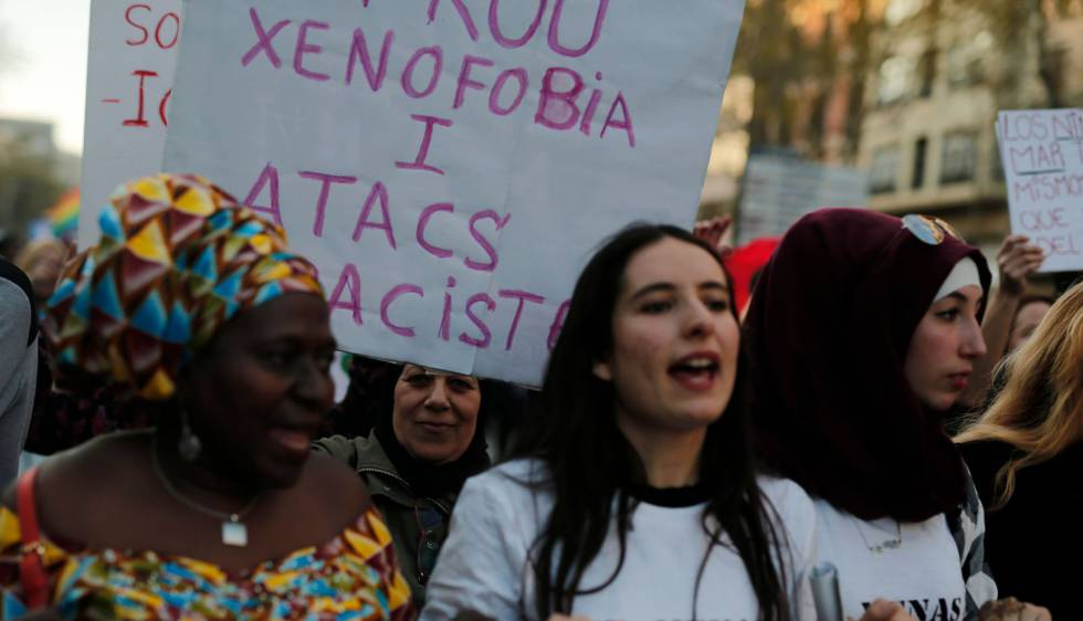ارتفاع جرائم الكراهية والعنصرية كاتالونيا
