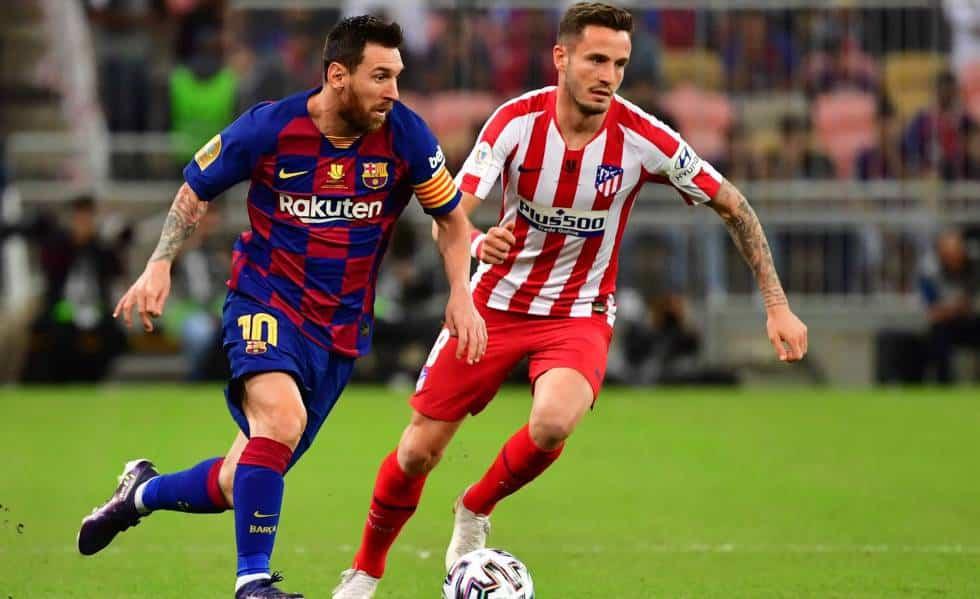 البارسا بشلونة اتليتيكو مدريد