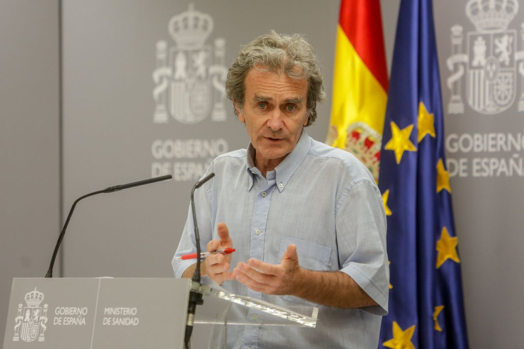 معدل أعمار المصابين بفيروس كورونا إسبانيا