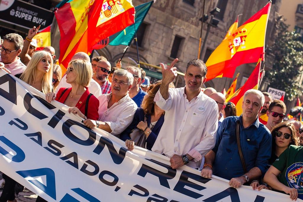 اليمين المتطرف إسبانيا الشرطة