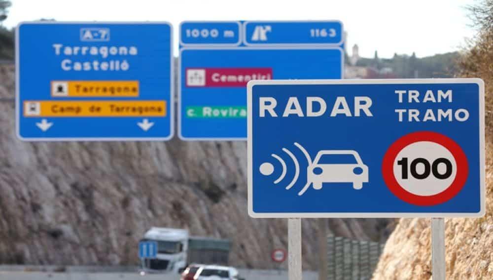 الرادار الطرقات الإسبانية