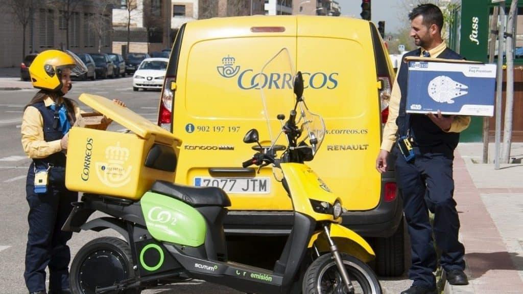 البريد الإسبانية فرصة 3421 عامل