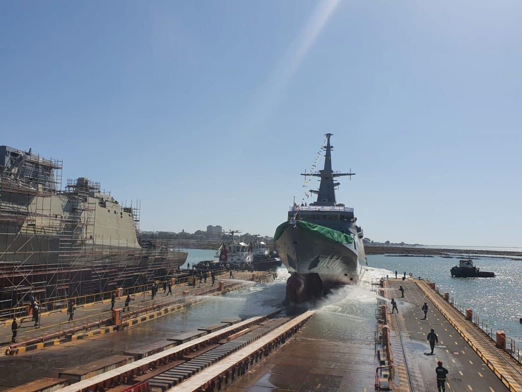 البحرية السعودية سفينة