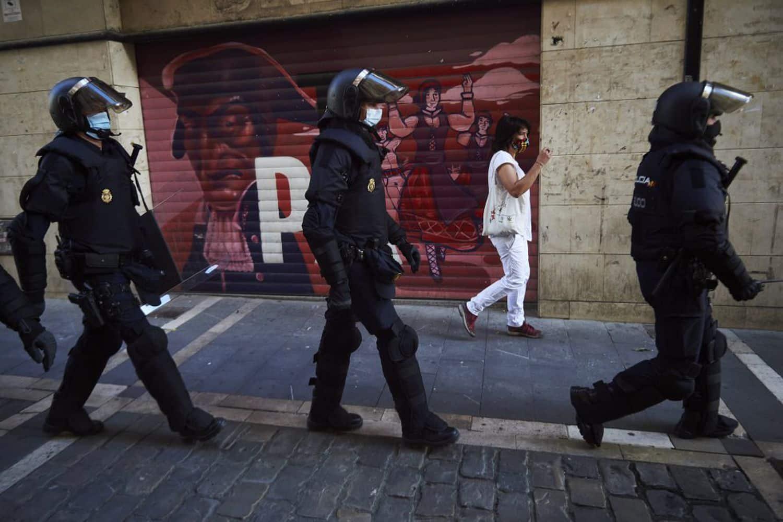 الشرطة الإسبانية بروتوكول جديد
