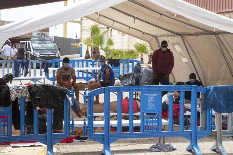 فرار مهاجرين جزائريين مورثيا