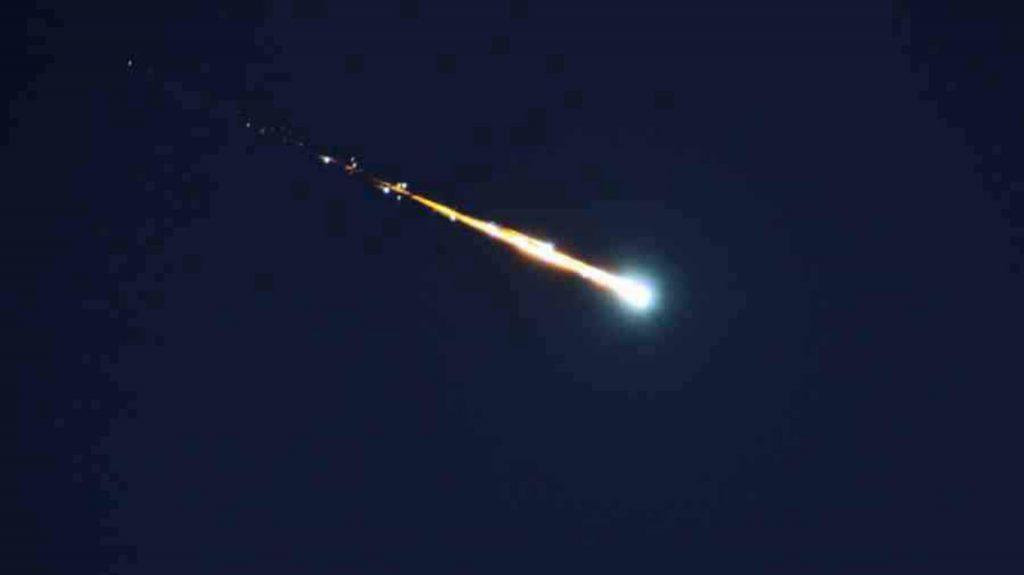 رصد لحظة سقوط نيزك في شمال جزيرة تينيريفي الإسبانية