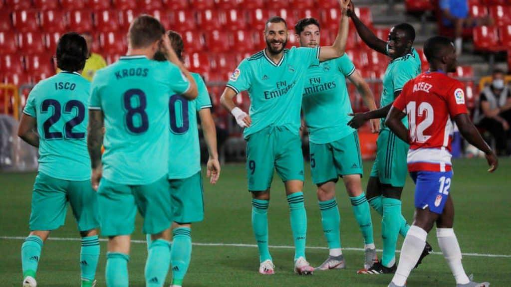 ريال مدريد غرناطة