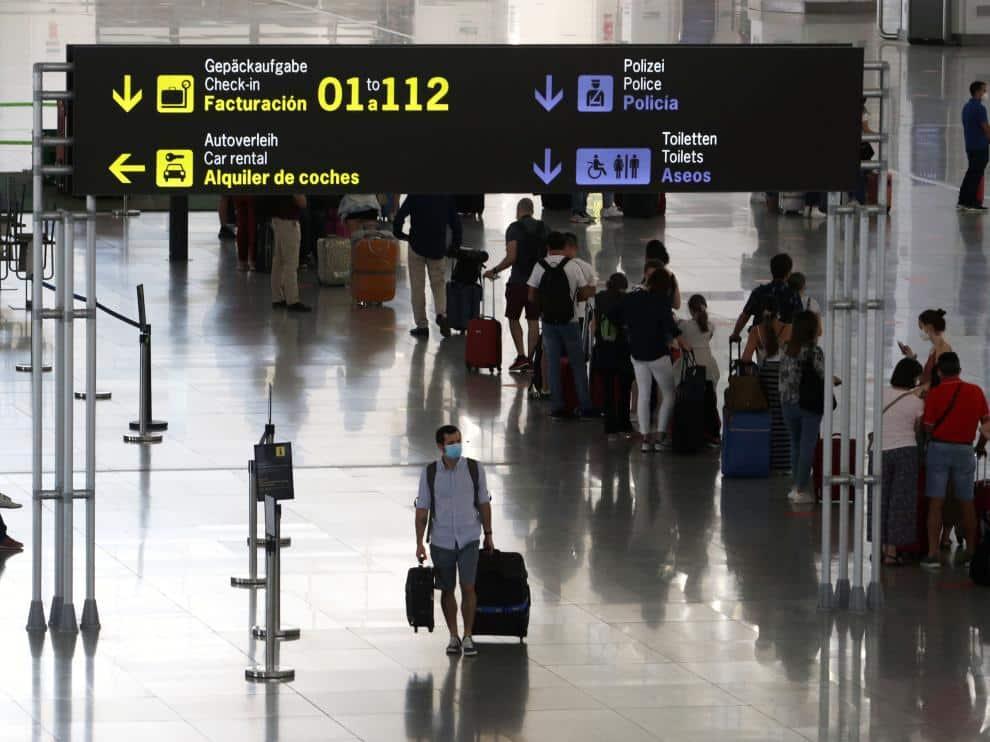 المطارات الإسبانية الضوابط الجديدة