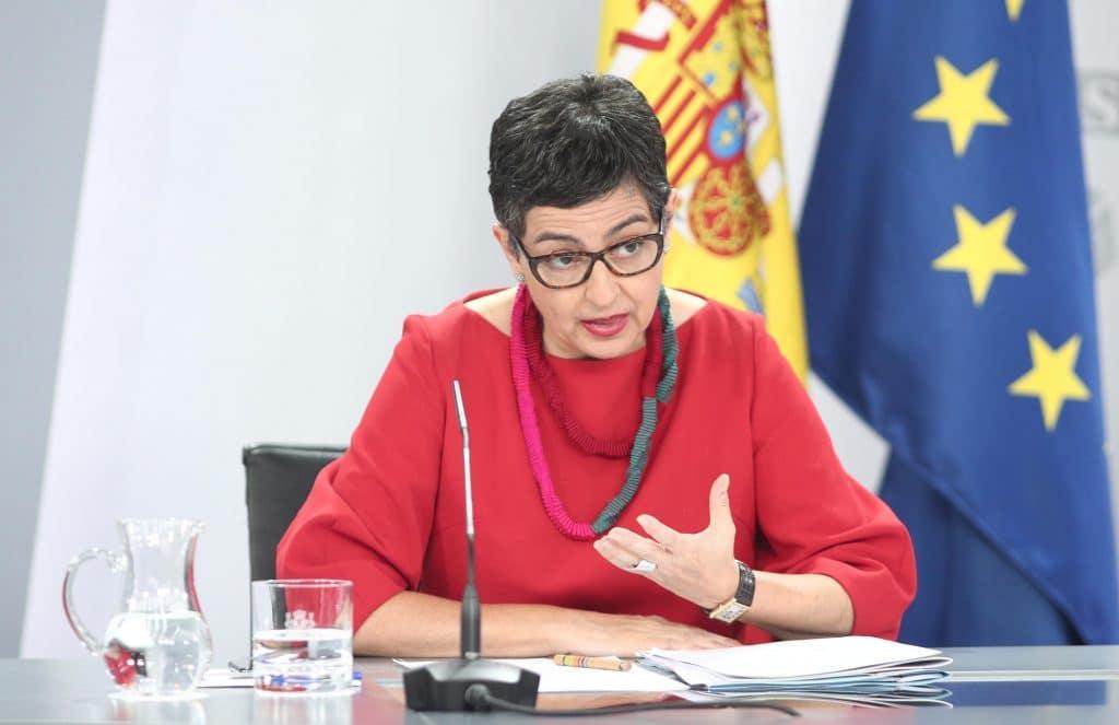 وزيرة الخارجية