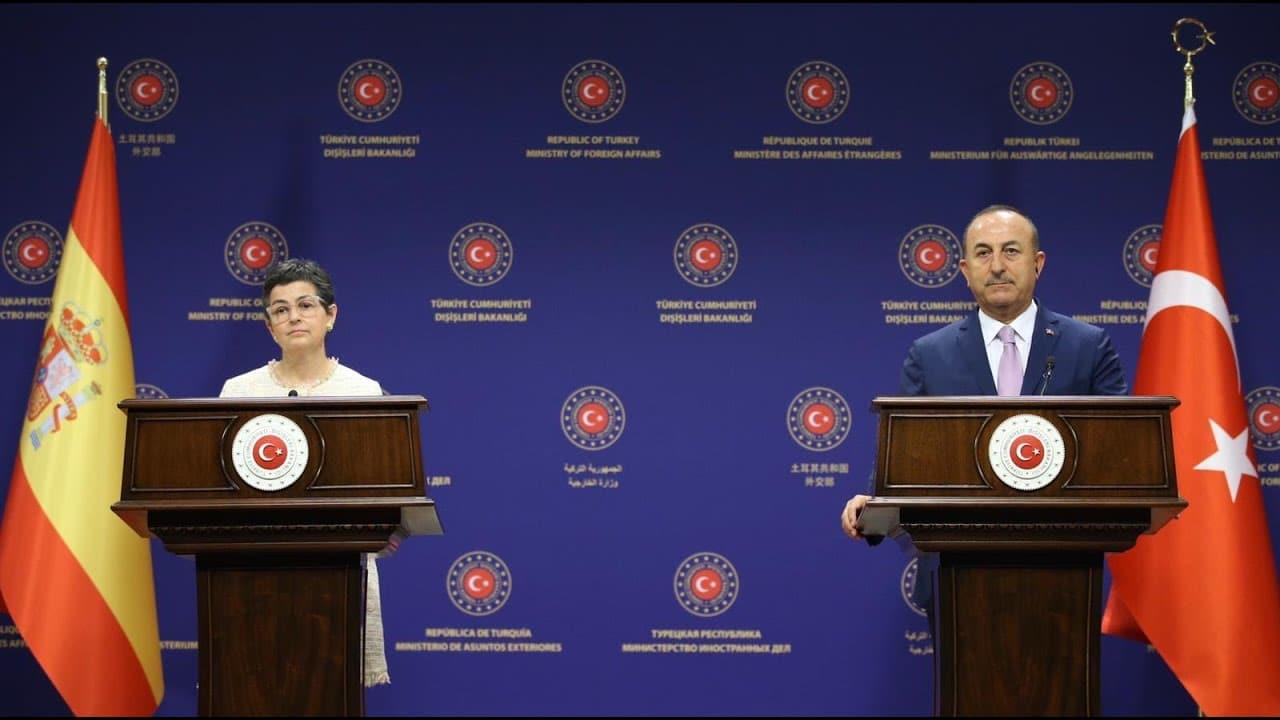 إسبانيا انخفاض التوتر مع تركيا