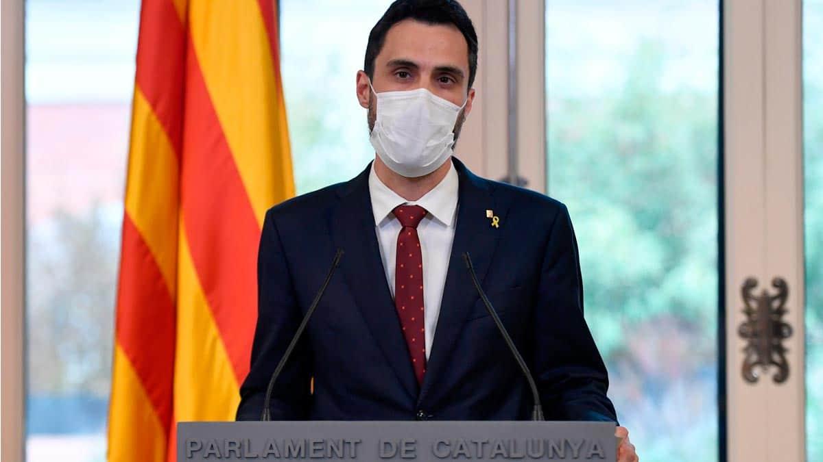 رئيس برلمان كاتالونيا التجسس