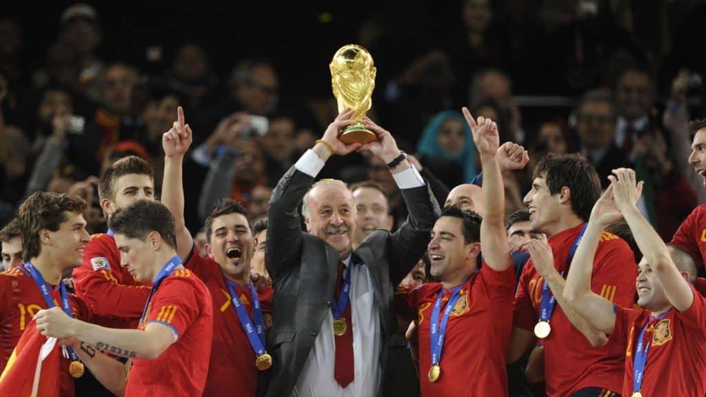 ديل بوسكي كأس العالم 2010