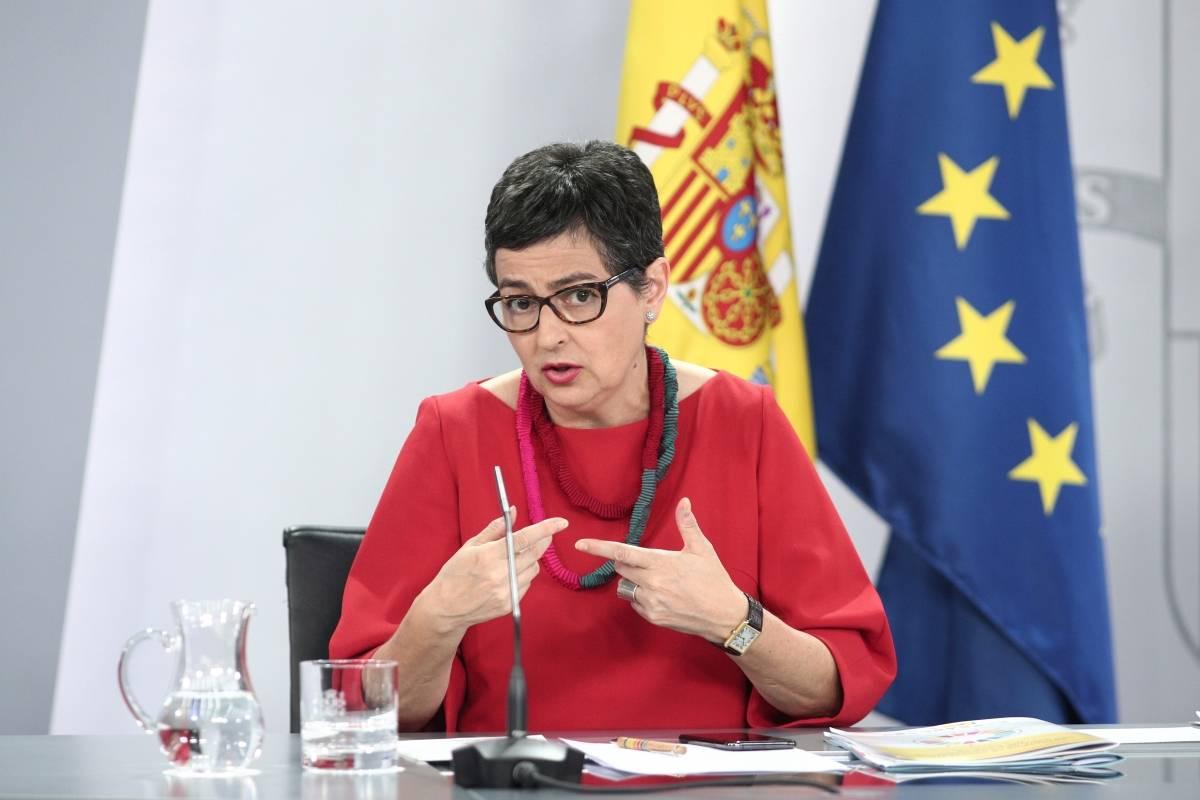 وزيرة الخارجية الإسبانيا
