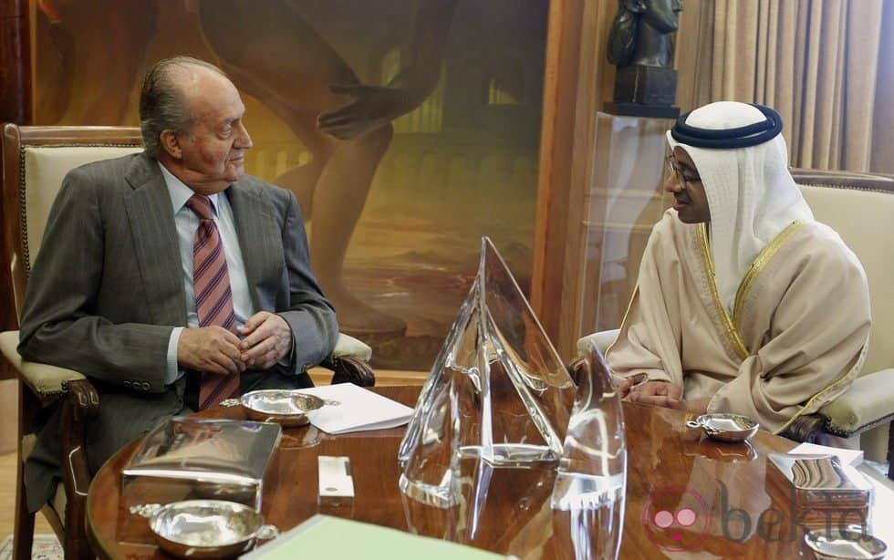 ملك إسبانيا السابق يقيم في الإمارات