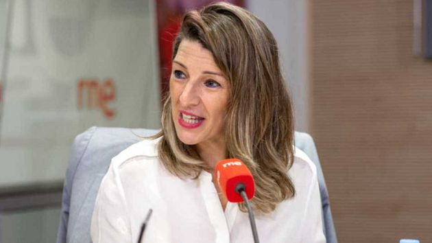 وزيرة العمل الإسبانية