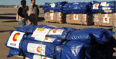 إرسال مساعدات إسبانية عاجلة إلى لبنان