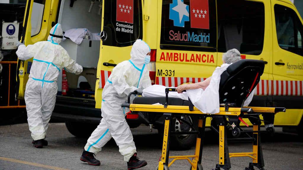 مستشفيات مدريد تدق ناقوس الخطر