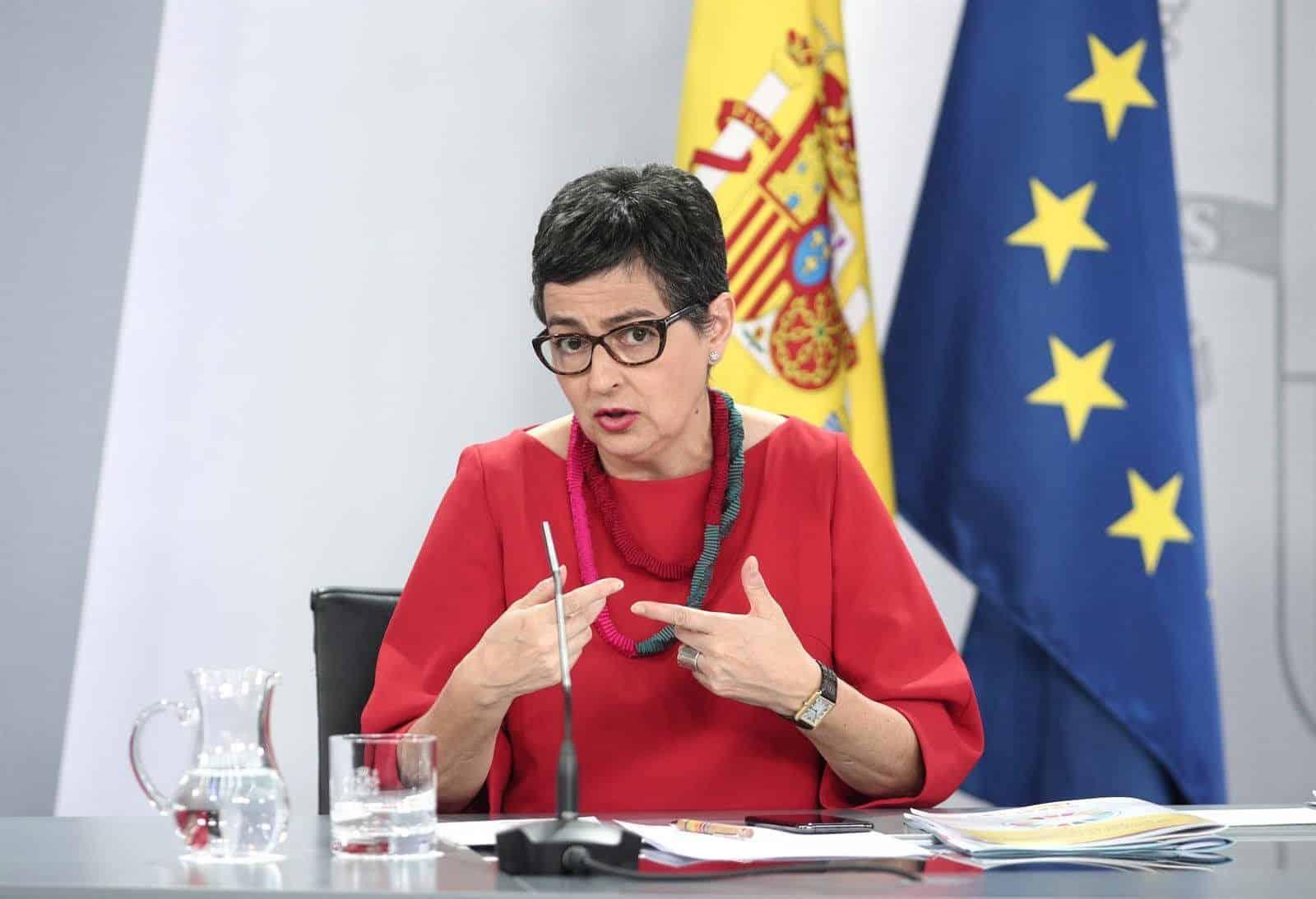اختراق هاتف وزيرة الخارجية الإسبانية